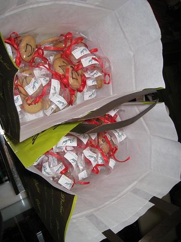 Galletas de Praliné para a presentación